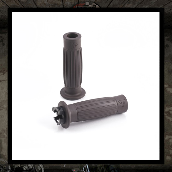 balloon grip kit 22 mm brown - new Triumph 2016 >